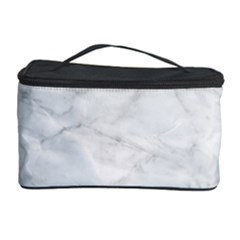 White Marble 2 Cosmetic Storage Cases by ArgosPhotography
