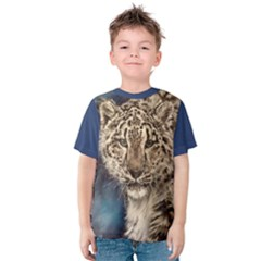Snow Leopard Kid s Cotton Tee