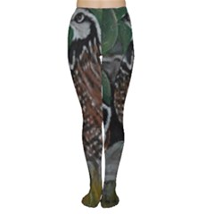 Bobwhite Quails Women s Tights by timelessartoncanvas