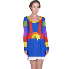 Rainbow Long Sleeve Nightdress by Ellador