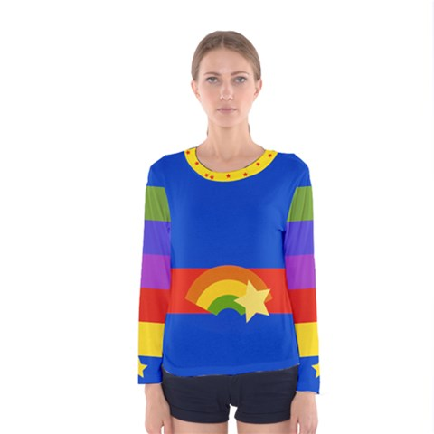 Rainbow Women s Long Sleeve T-shirt by Ellador