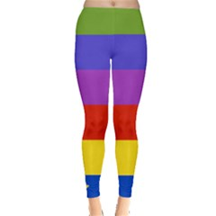 Rainbow Leggings  by Ellador