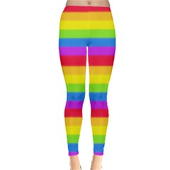 Rainbow Pattern Leggings  by Ellador