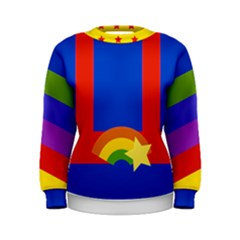 Rainbow Women s Sweatshirt by Ellador