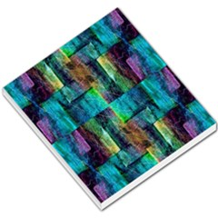 Abstract Square Wall Small Memo Pads by Costasonlineshop