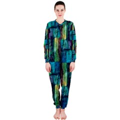 Abstract Square Wall Onepiece Jumpsuit (ladies)  by Costasonlineshop