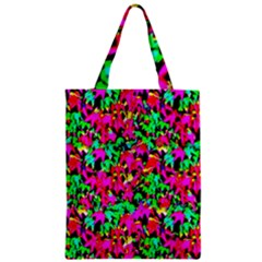 Colorful Leaves Zipper Classic Tote Bags by Costasonlineshop