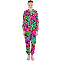 Colorful Leaves Hooded Jumpsuit (ladies)  by Costasonlineshop