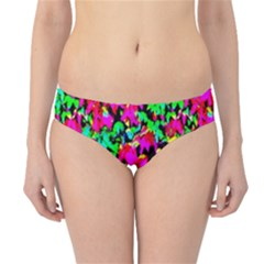 Colorful Leaves Hipster Bikini Bottoms by Costasonlineshop