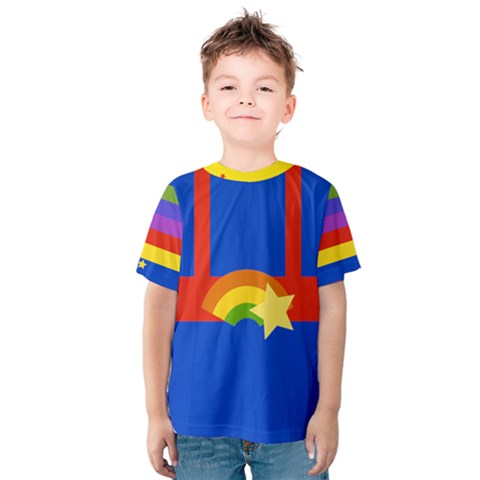 Rainbow Kid s Cotton Tee by Ellador
