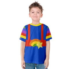 Rainbow Kid s Cotton Tee