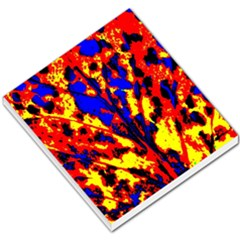 Fire Tree Pop Art Small Memo Pads by Costasonlineshop