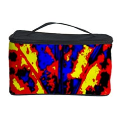 Fire Tree Pop Art Cosmetic Storage Cases by Costasonlineshop