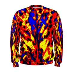 Fire Tree Pop Art Men s Sweatshirts by Costasonlineshop