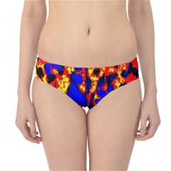 Fire Tree Pop Art Hipster Bikini Bottoms by Costasonlineshop