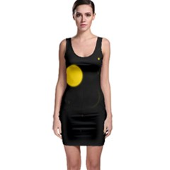 Cycle To The Moon Bodycon Dresses by JDDesigns