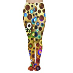 Colourful Circles Pattern Women s Tights by Costasonlineshop