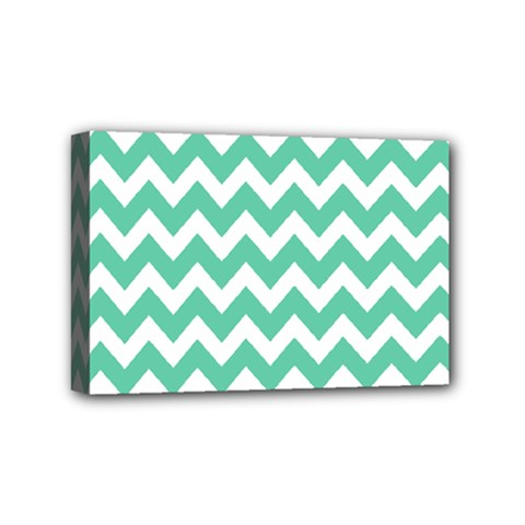 Chevron Pattern Gifts Mini Canvas 6  X 4