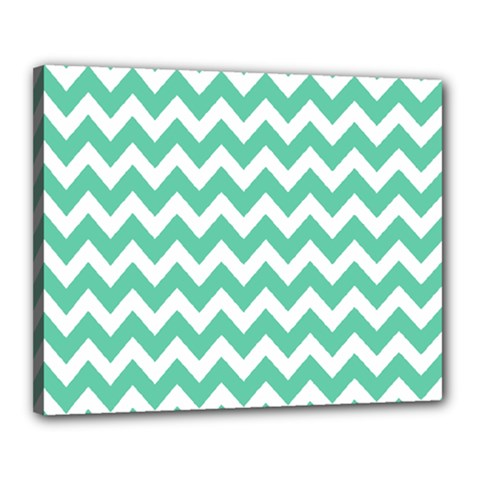 Chevron Pattern Gifts Canvas 20  X 16  by creativemom