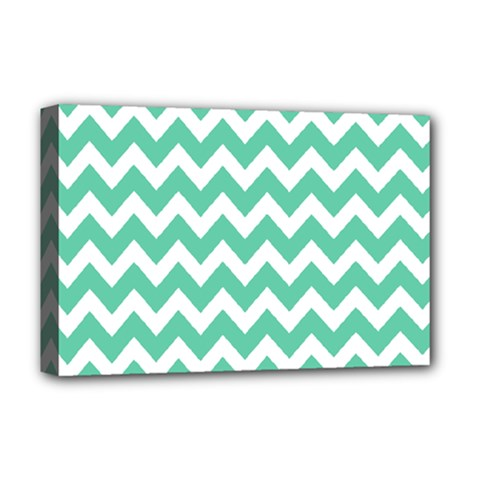 Chevron Pattern Gifts Deluxe Canvas 18  X 12