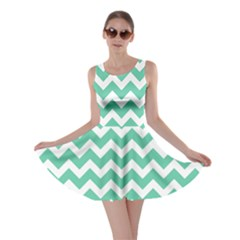 Chevron Pattern Gifts Skater Dresses