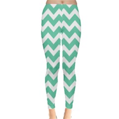 Chevron Pattern Gifts Women s Leggings by creativemom
