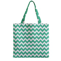 Chevron Pattern Gifts Grocery Tote Bags