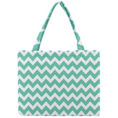 Chevron Pattern Gifts Tiny Tote Bags