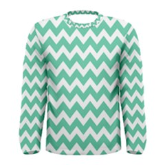 Chevron Pattern Gifts Men s Long Sleeve T Shirts