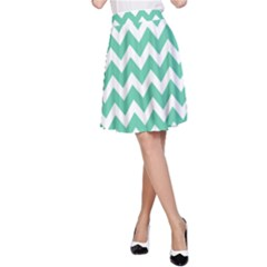 Chevron Pattern Gifts A Line Skirt
