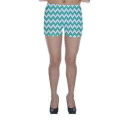 Chevron Pattern Gifts Skinny Shorts