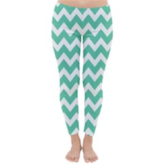 Chevron Pattern Gifts Winter Leggings