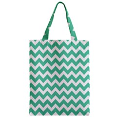 Chevron Pattern Gifts Zipper Classic Tote Bags