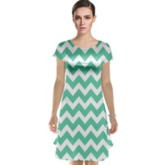 Chevron Pattern Gifts Cap Sleeve Nightdresses