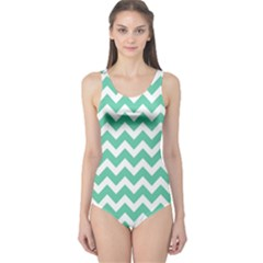 Chevron Pattern Gifts One Piece Swimsuit