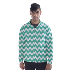 Chevron Pattern Gifts Wind Breaker (men)