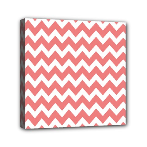 Chevron Pattern Gifts Mini Canvas 6  X 6  by creativemom