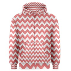 Chevron Pattern Gifts Men s Zipper Hoodies by creativemom