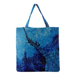 Rockscape Grocery Tote Bags by timelessartoncanvas