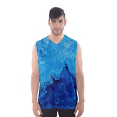 Waves Men s Basketball Tank Top by timelessartoncanvas