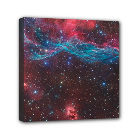 Vela Supernova Mini Canvas 6  X 6