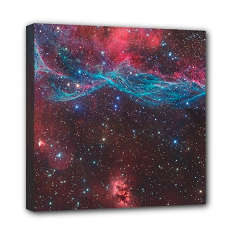 Vela Supernova Mini Canvas 8  X 8