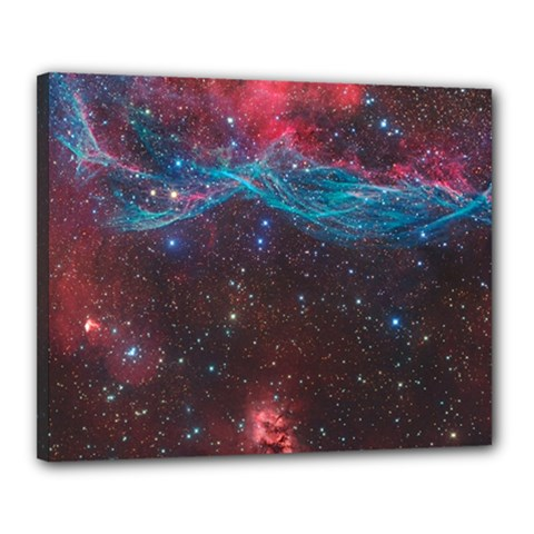 Vela Supernova Canvas 20  X 16
