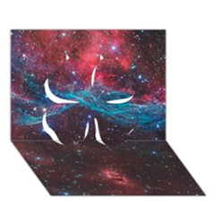 Vela Supernova Clover 3d Greeting Card (7x5)