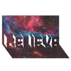Vela Supernova Believe 3d Greeting Card (8x4)
