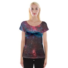 Vela Supernova Women s Cap Sleeve Top