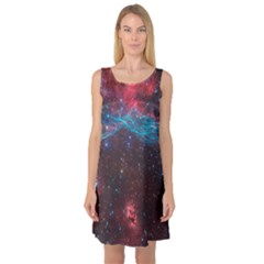 Vela Supernova Sleeveless Satin Nightdresses