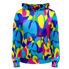 Colorful Chaos Women s Pullover Hoodie