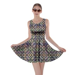 Luxury Patterned Modern Baroque Skater Dresses