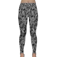 Luxury Patterned Modern Baroque Yoga Leggings